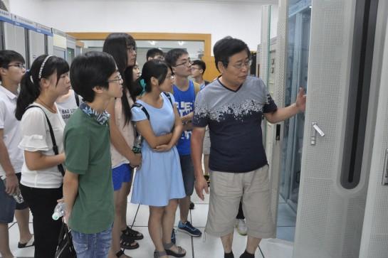 【暑期社会实践】自院学子初涉电力 黄石电网筑起桥梁
