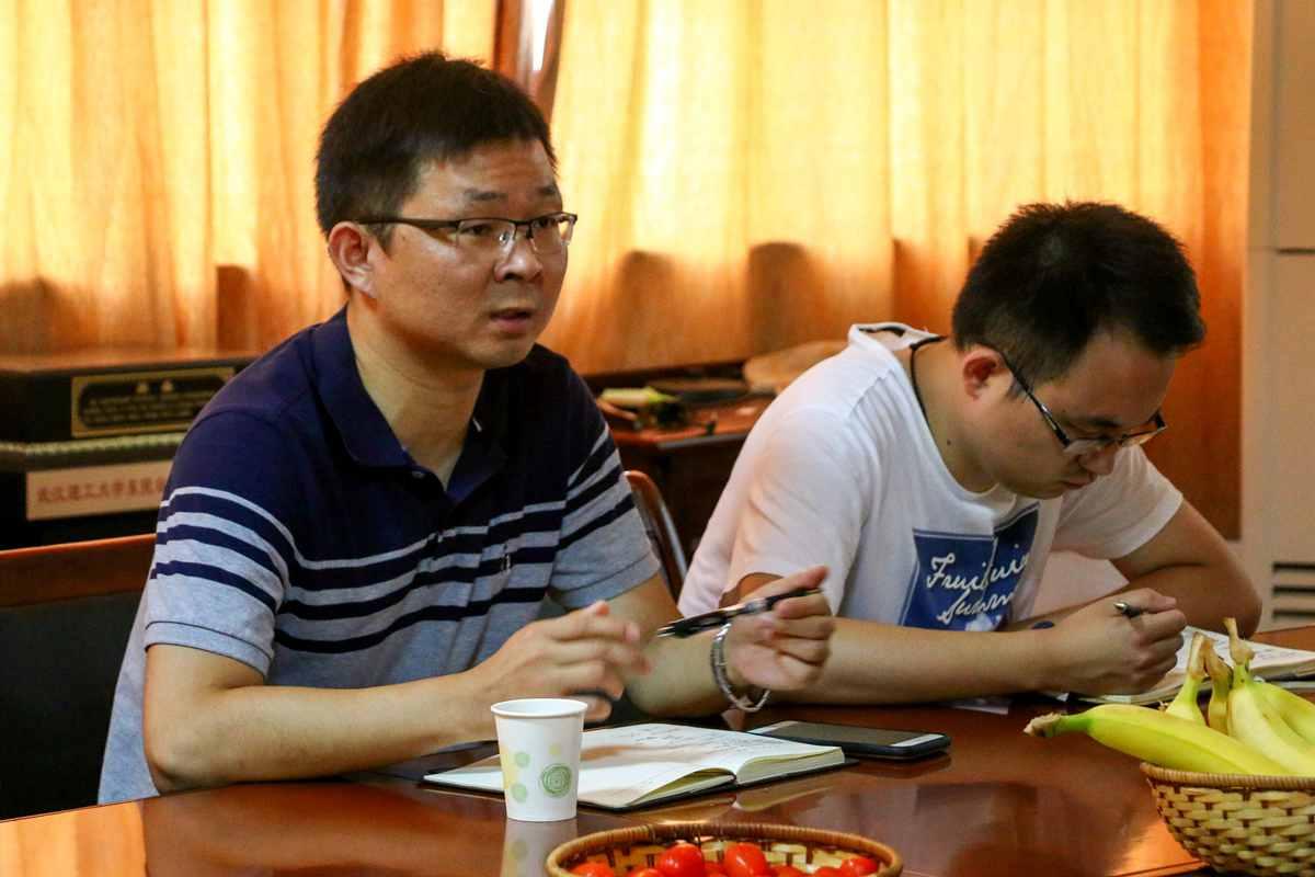 【科技创新】校团委副书记魏明华来我院调研学生科技创新工作