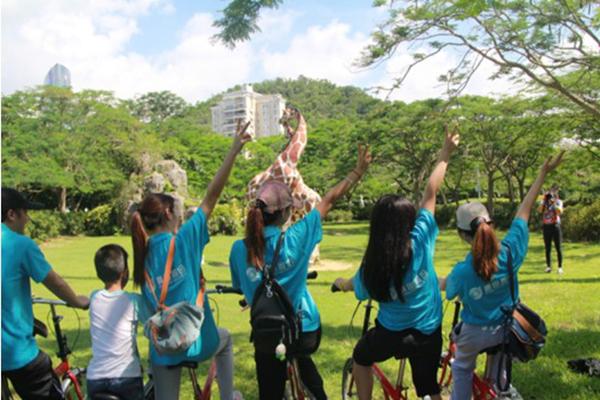 【志愿在行动】骑乐无穷――记自动化1502团支部环保宣传活动