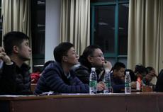 自动化学院理工易班十佳网络人气班集体院内展示答辩顺利进行